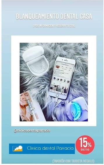 Promo blanqueamiento dental 15% dto. en septiembre2020